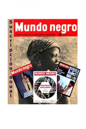 Suscripción Mundo Negro Diciembre