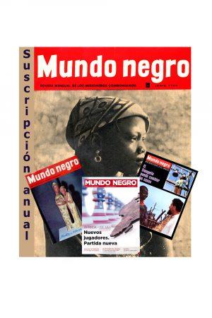 suscripción Mundo Negro