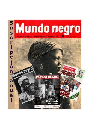 Suscripción anual Mundo Negro